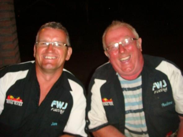 Ian Steward and Andrew Brighton