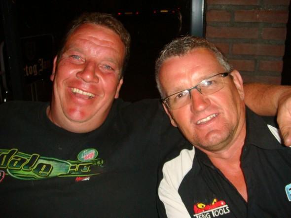 Thornie and Ian Steward