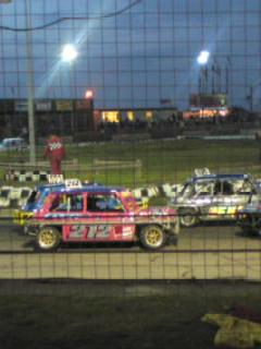 Lining up for Heat 2