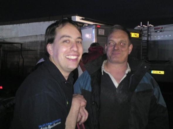 Paul Hines and Steve Jacklin