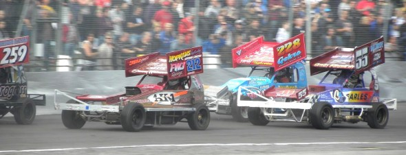 Danny in Heat 1 action on Sunday