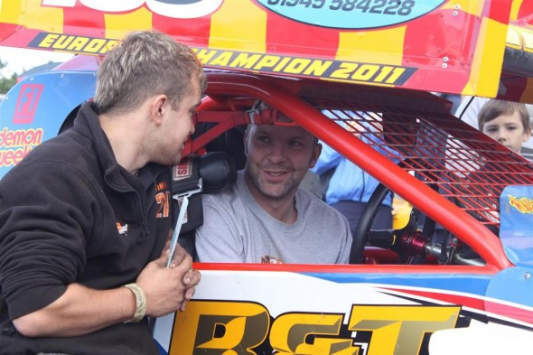 Danny chats with Mick Sworder