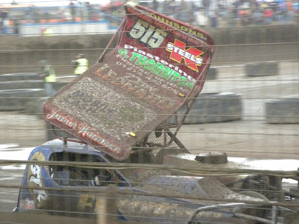 Frankie Wainman Junior and Dan Johnson side by side the Final