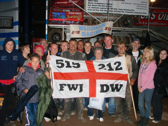 Fans at Belle Vue