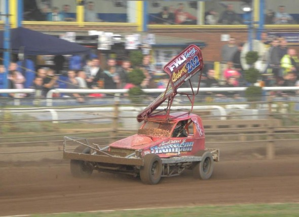Danny at speed in Heat 3