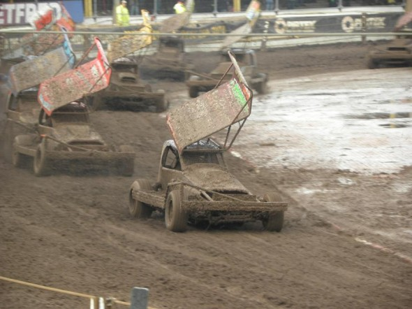 Heat 1 was a mudbath