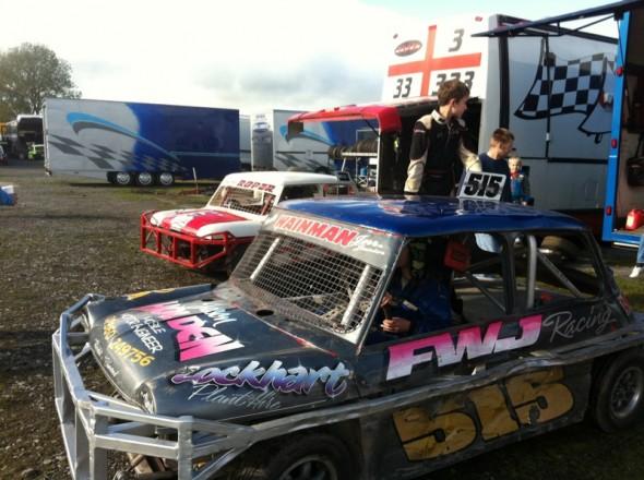 Frankie JJ ready to race