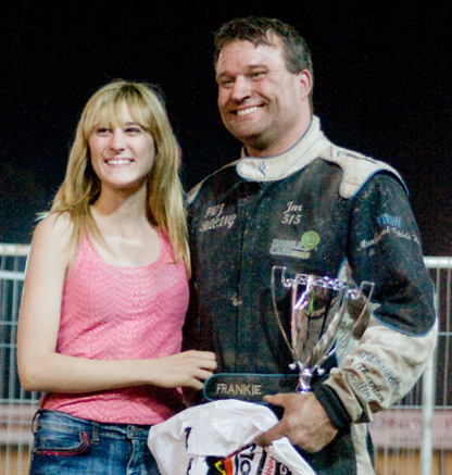 Phoebe with the GN winner.