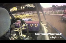 Behind the wheel at the 2011 World 240s Championship.