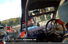 In-car video of Frankie in the World 240 Championship