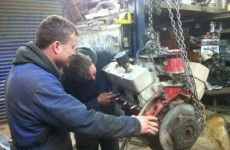 Shale car rebuild - just in time!