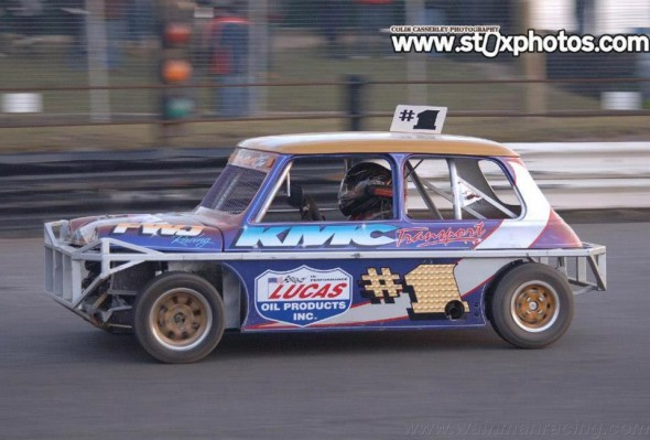 Young Frankie at Skegness [Photo: Colin Casserley]