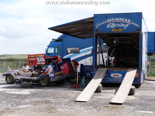Camp Wainman before the meeting. (SS)