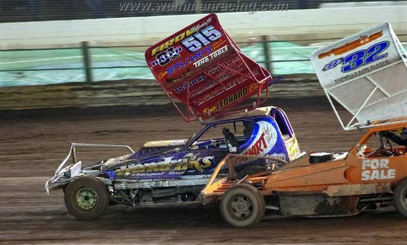 White top Chris Farnell did well at Coventry. (CW)