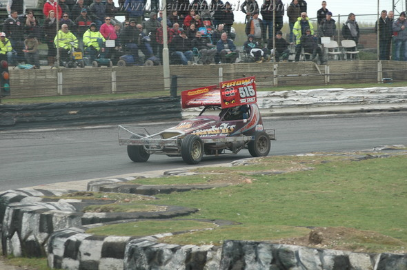 Trying the shale car out on tarmac. (LP)