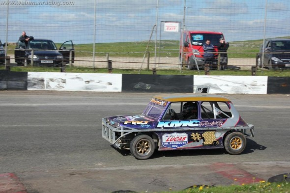 Frankie at Buxton on Sunday 7th June.