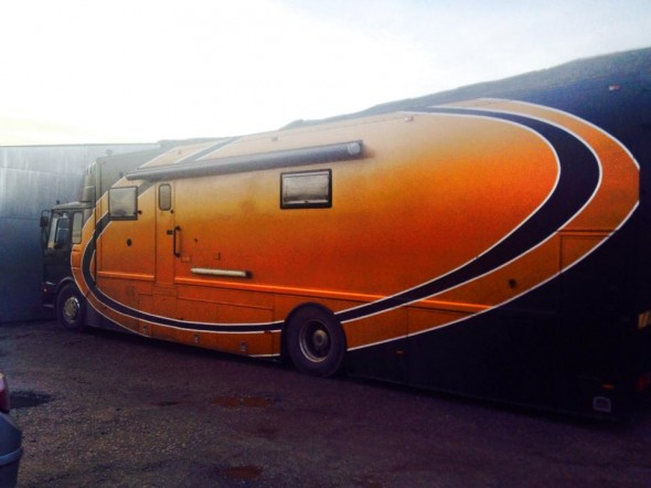 Danny's new transporter will most likely be at the show.