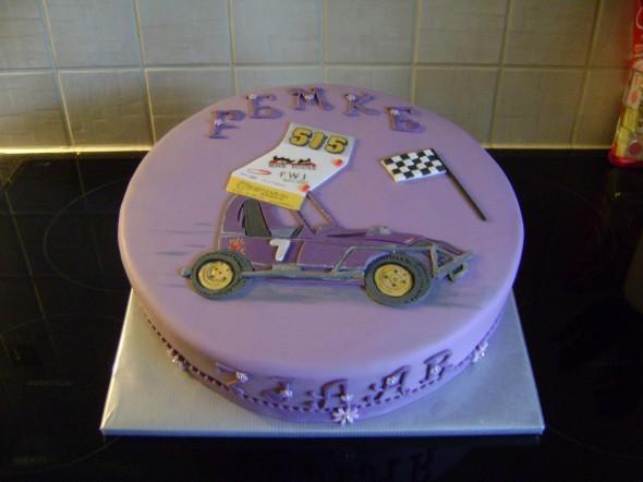 Femke's 7th birthday cake.