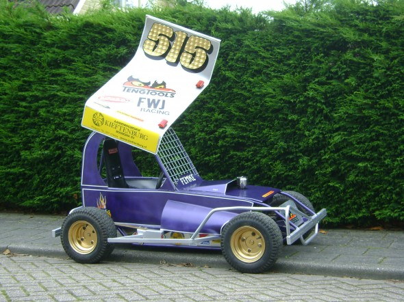 Femke's mini F1.