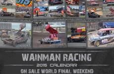 The Wainman Racing 2015 calendar