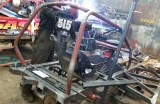 New shale car build