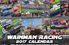 2017 Wainman Racing calendars