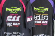Last orders for Team Wainman polo shirts and hoodies