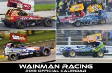 The 2018 Wainman Racing Calendar