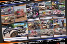 The 2020 Wainman Racing Calendar